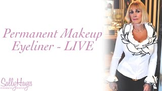 Permanent Makeup Eyeliner - Live Thumbnail