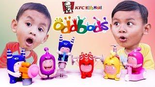 Mainan Oddbods Hadiah Terbaru Dari KFC Chaki Kids Meal 2019 | KFC Oddbods Cartoon