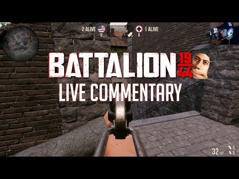 Battalion 1944 - When the game doesn't want you to carry |