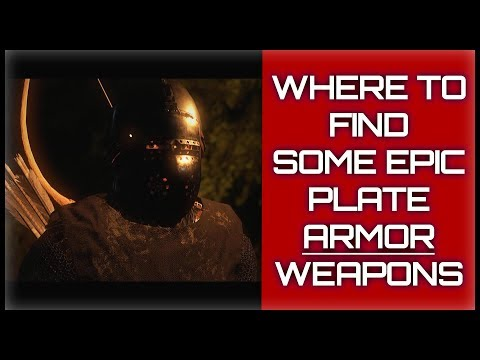 How To Find Some Free 🧥EPIC Plate Armor|🗡Weapons - Kingdom Come: Deliverance GUIDE