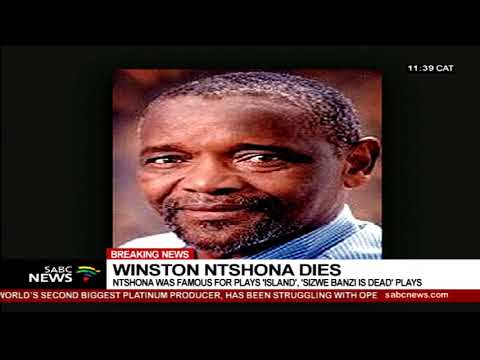 Winston Ntshona dies
