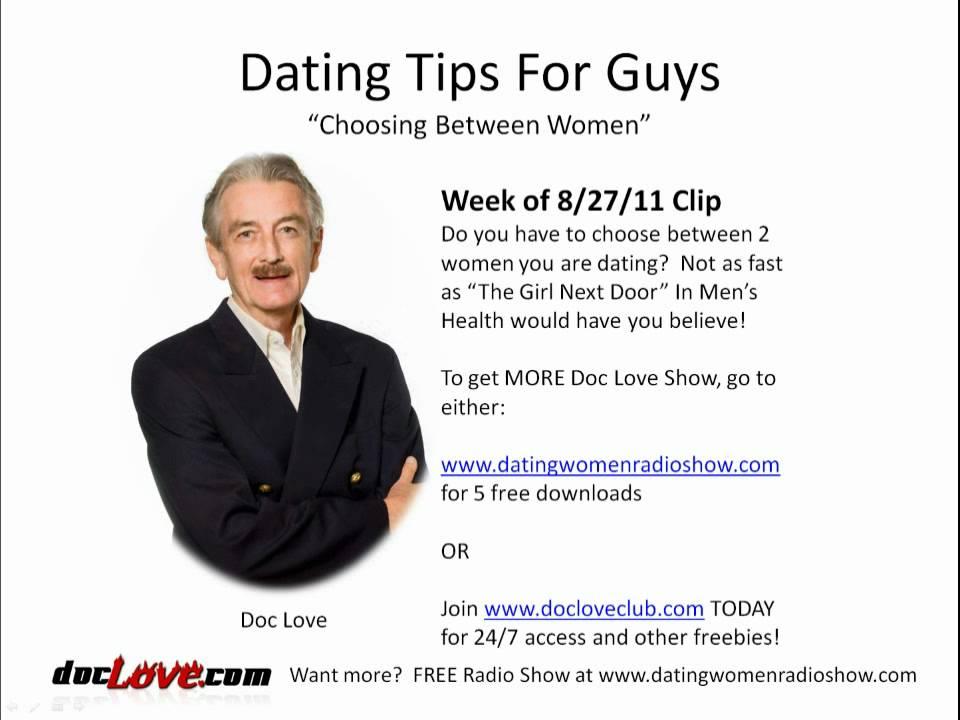 dating tips for girls from guys 24 7