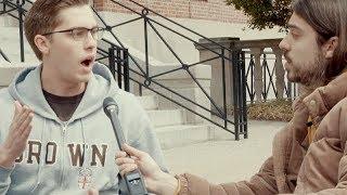 Brown University Student Won't Accept Veganism: DEBATE A VEGAN