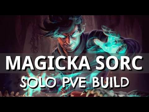 Magicka Sorcerer SOLO PVE Build - SHOCK MASTER - ESO Wrathstone