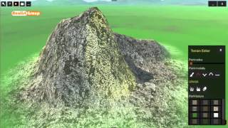 OneRay-RT Terrain height increase and pit creation