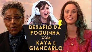 DESAFIO DA LEITURA LABIAL ft. Kaya Scodelario e Giancarlo Esposito (Maze Runner)