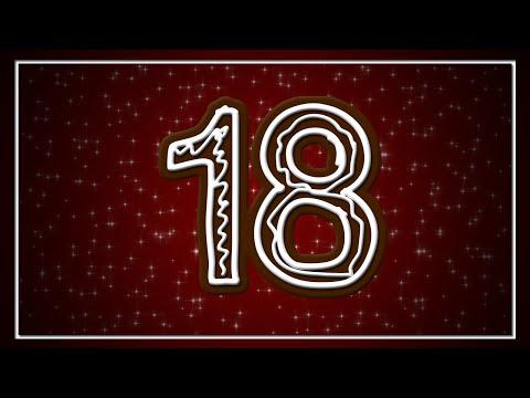 Evelins Julkalender 2015  Lucka 18  Tusen år till Julaftonspelet!