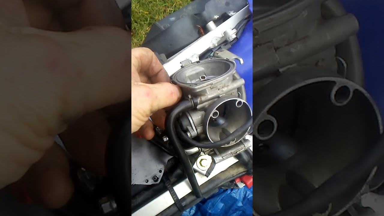 2007 Suzuki DRZ 400 Carburetor Idle Cure