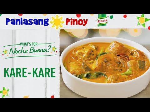 How to Cook Kare Kare  Ox Tail and Beef Tripe   Kare Kare Recipe   Tuwalya ng Baka  Panlasang Pinoy