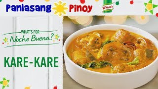 How to Cook Kare - kare with Ox Tail and Beef Tripe - Panlasang Pinoy