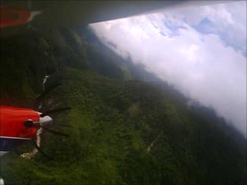 Flying in Papua Indonesia