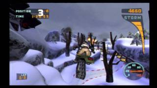 1   Sled Storm - Cedar Canyon (Championship Mode)