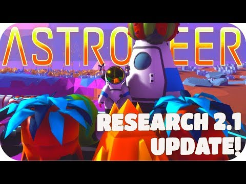 Astroneer Gameplay: SPEEDING UP RESEARCH!! ▶RESEARCH 2.1 UPDATE◀ Let's Play Astroneer Alpha v0.5.0.0