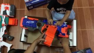 [Unboxing] NERF N strike ELITE Hyperfire (Malaysia)