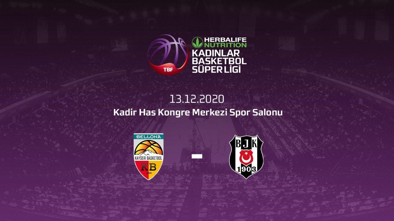 Bellona Kayseri Basketbol – Beşiktaş HDI Sigorta Herbalife Nutrition KBSL 12.Hafta