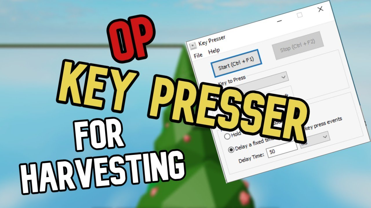 How To Get An Op Key Presser For Roblox Skyblock Youtube