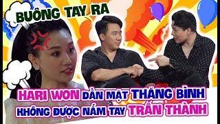Hari Won 'dằn mặt' Trịnh Thăng Bình không được 'nắm tay' Trấn Thành