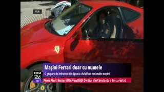 DIGI24 SPANIA  Ferrari doar cu numele. Un român, printre infractorii care modificau maşini
