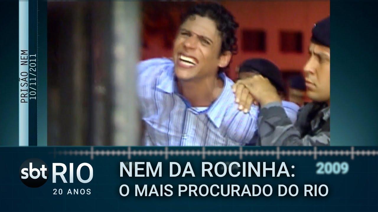 Download SBT Rio 20 Anos: A prisão de Nem da Rocinha, o traficante mais procurado do Rio