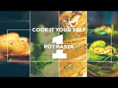 One Pot Pasta - FULL DINNER (Vegan/Vegetarian Recipes)