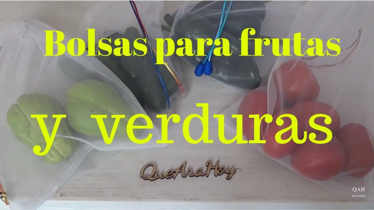 Frutas no para pe saco