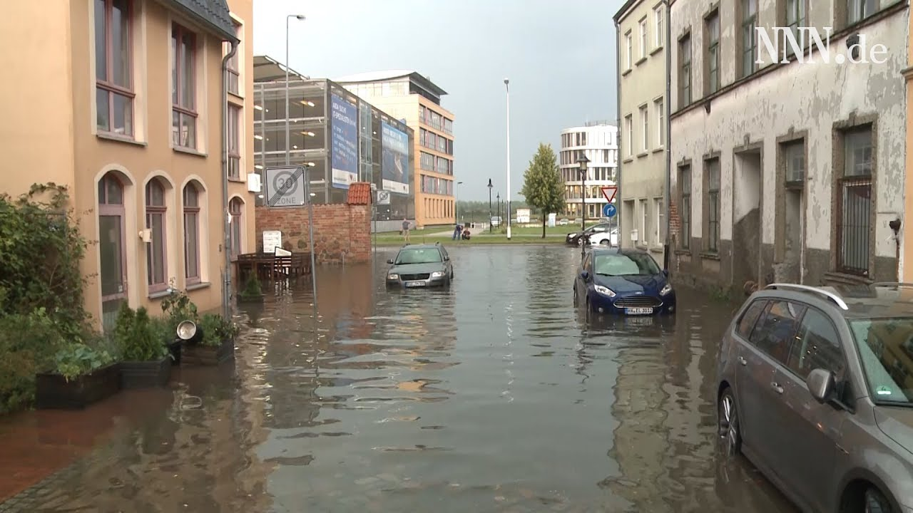 Unwetter Rostock
