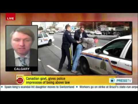 Freedom of the Press & Freedom of Speech Under Attack in Canada - Joshua Blakeney on PRESS TV