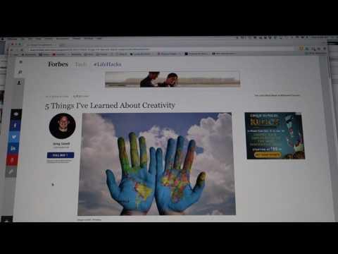 Ten Minutes with Portfolium   an easy way to make a digital portfolio