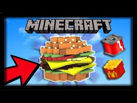 ON BUILD UN HAMBURGER ULTRA RÉALISTE DANS MINECRAFT ?! Build Battle Hamburger Hypixel