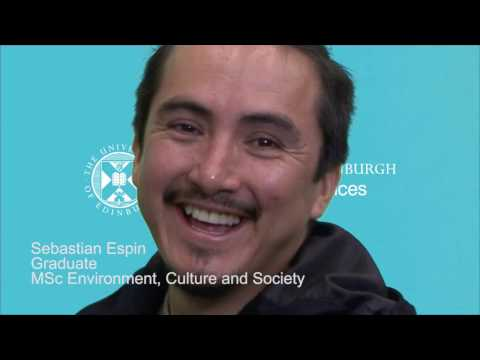 MSc Environment, Culture and Society - Sebastian Espin