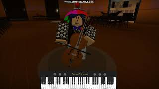 My Strange Addiction - Billie Eilish (ROBLOX Cello/Piano)(Sheets in description)