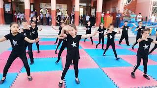 Adana Sarıçam Ata ilkokulu 2-FEG sınıfları 19 Mayıs Jimnastik gösterisi Video