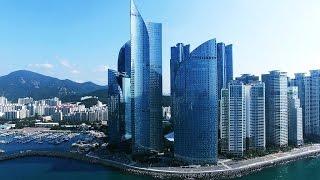 Haeundae Marin City Drone Footage ; 해운대 마린시티, 광안대교 드론영상