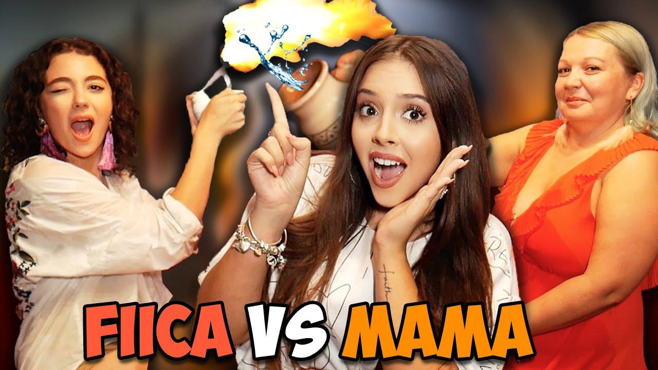 SI-AU DAT FOC Si AU ARUNCAT Cu APA *FIICA vs MAMA*