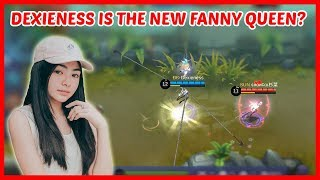 Dexie Diaz is the Princess Cosmos of Fanny! - Mobile Legends