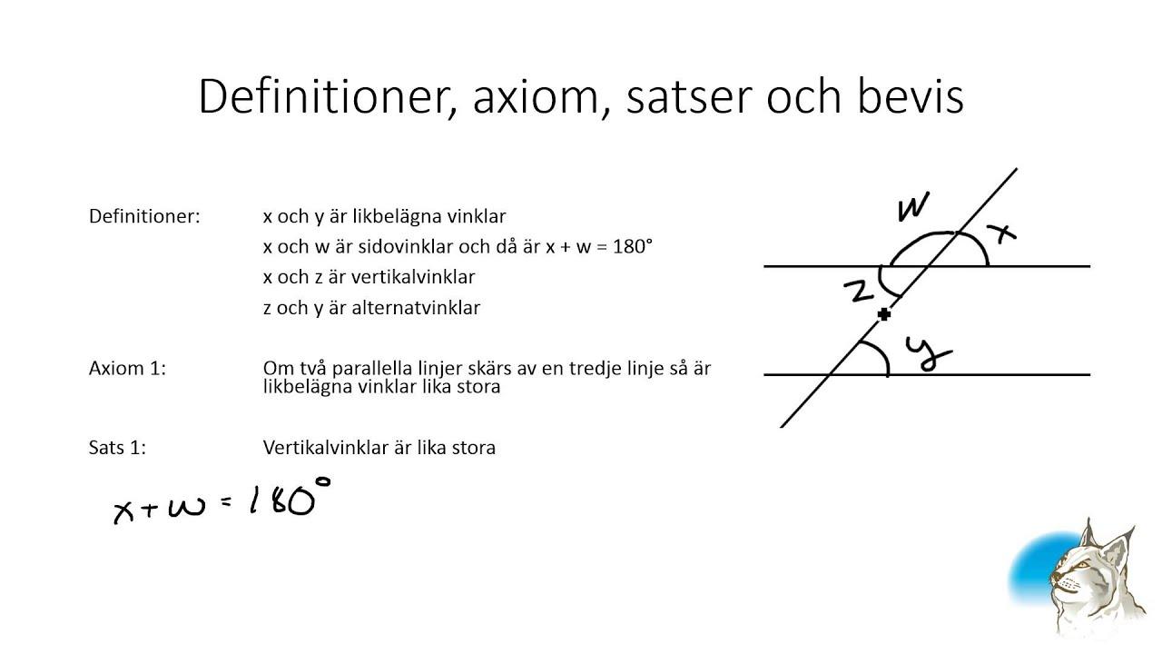 beviser i matematik