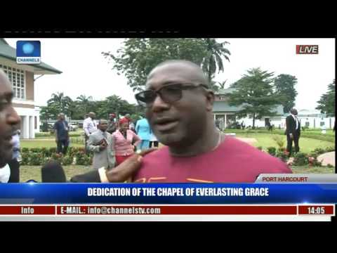 Dedication Of The Chapel Of Everlasting Grace Pt 12