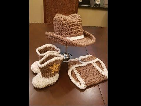 cowboy hat crochet sombrero vaquero pattern # 26