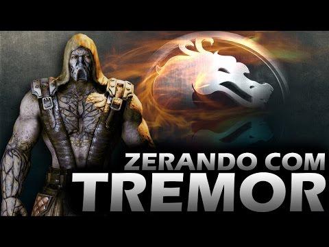 Mortal Kombat X - Zerando com TREMOR