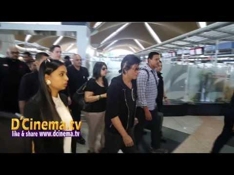 SHAH RUKH KHAN IN MALAYSIA Temptation Show 2014