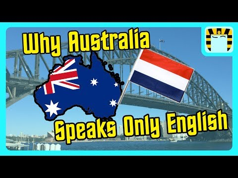 Why Australia Doesn't Speak Dutch