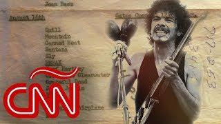 Carlos Santana: La generación de Woodstock no necesita paredes