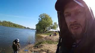Друг Карась на снасть с коромыслом Рыбалка на реке Дон село Желдаковка