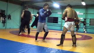 Japan MMA Striking Kickboxing Sparring Brave Gym Rds 6 7 Wolfman vs Deep 8 vs Cat!