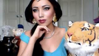 Disney's Princess Jasmine Make-up tutorial !!!!!