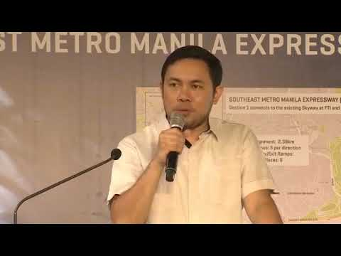 GOOD NEWS: Southeast Metro Manila Expressway Section Skyway-FTI GROUND BREAKS