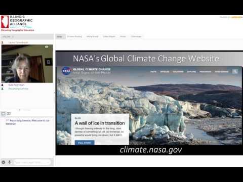 Laura Faye Tenenbaum Monitoring Climate Change with satellites 2017
