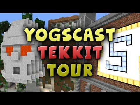 Yogscast Tekkit Server Tour