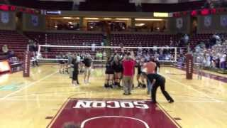Porter Gaud wins 2012 SCISA volleyball title