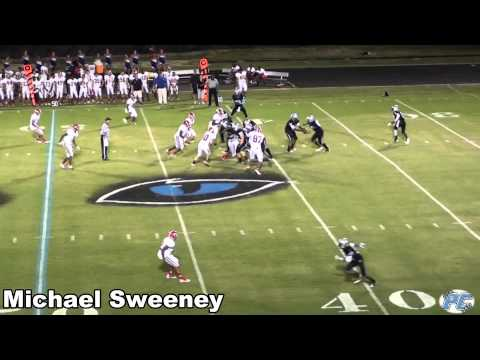 Michael Sweeney #43 FB Senior Hightlights Class of 2012